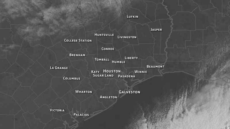 Houston Weather Blog Snowfall 02242010