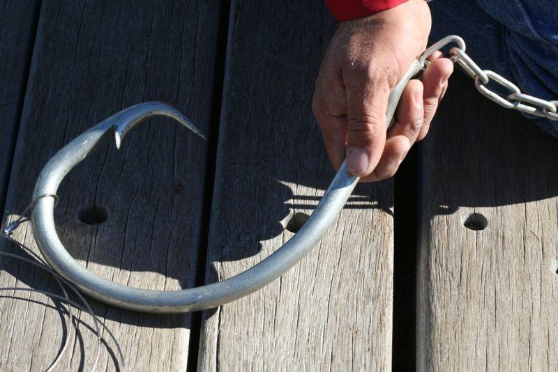 Hook hand