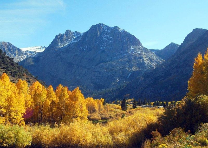 Fall Foliage - June Lake Loop, Hwy 158
