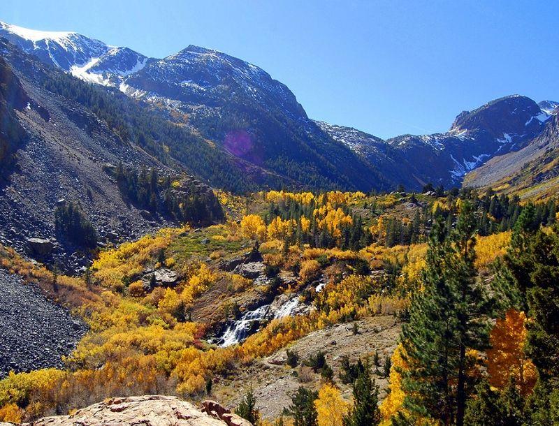 Fall Foliage - Lundy Falls